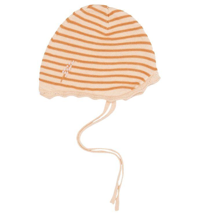 Image of Mini A Ture Babyhjelm - Strik - Una - Apricot Gelato (NN076)