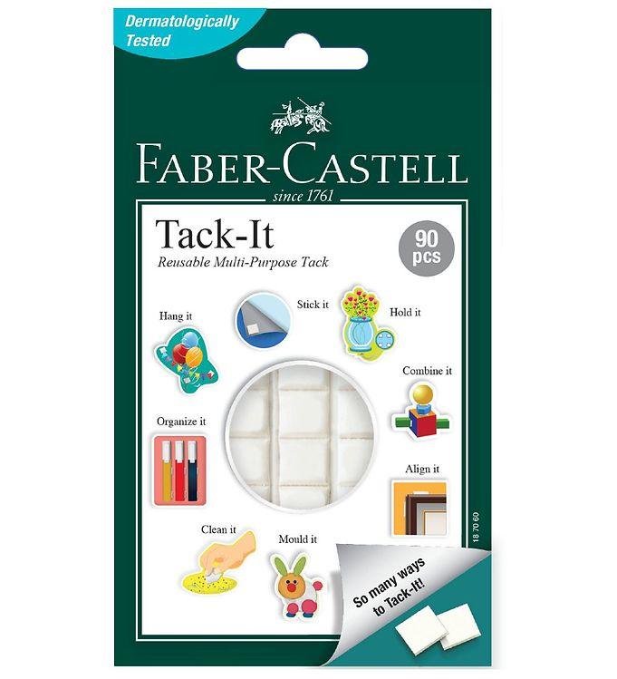 Image of Faber-Castell Hæftemasse - Tack It - 90 stk. - Hvid (NN496)