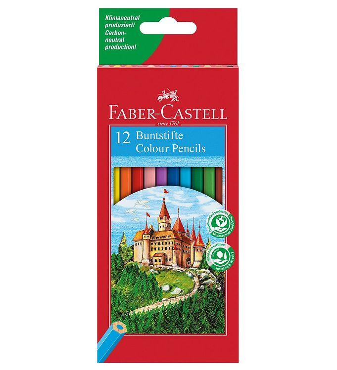 Image of Faber-Castell Farveblyanter - Slot - 12 stk - Multifarvet (NN500)