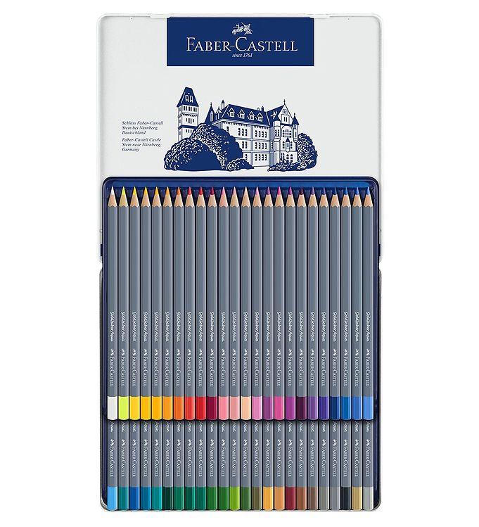 Image of Faber-Castell Farveblyanter - Goldfaber Akvarel - 48 stk - Multi (NN501)