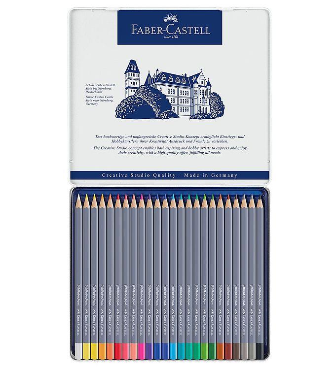Image of Faber-Castell Farveblyanter - Goldfaber Akvarel - 24 stk - Multi (NN503)