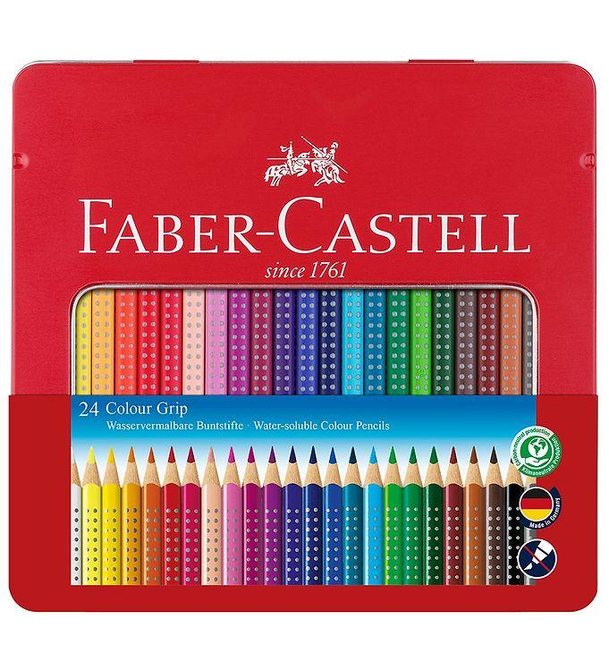 Image of Faber-Castell Farveblyanter - Grip - akvarel - 24 stk - Multi (NN506)