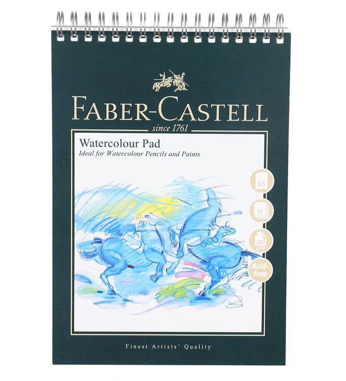 Image of Faber-Castell Maleblok - Akvarel - 10 ark - A5 (NN507)