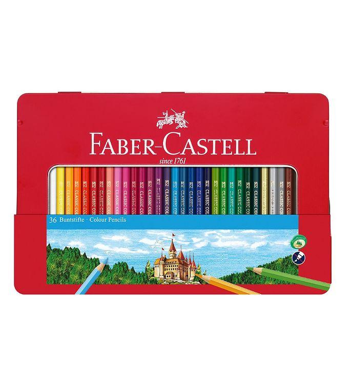 Image of Faber-Castell Farveblyanter - Slot - 36 stk - Multifarvet (NN513)