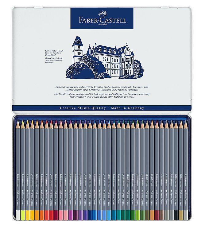 Image of Faber-Castell Farveblyanter - Goldfaber Akvarel - 36 stk - Multi (NN517)