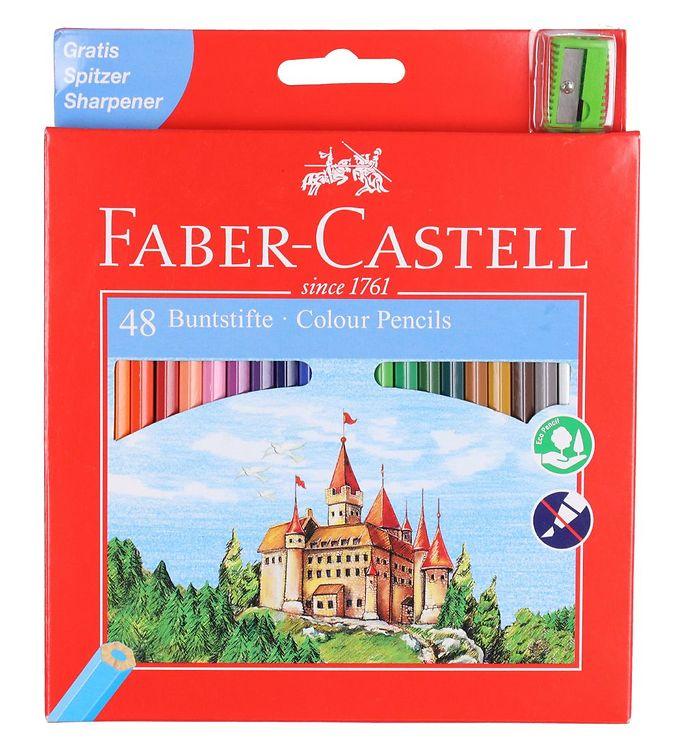 Image of Faber-Castell Farveblyanter - Slot - 48 stk - Multifarvet (NN526)