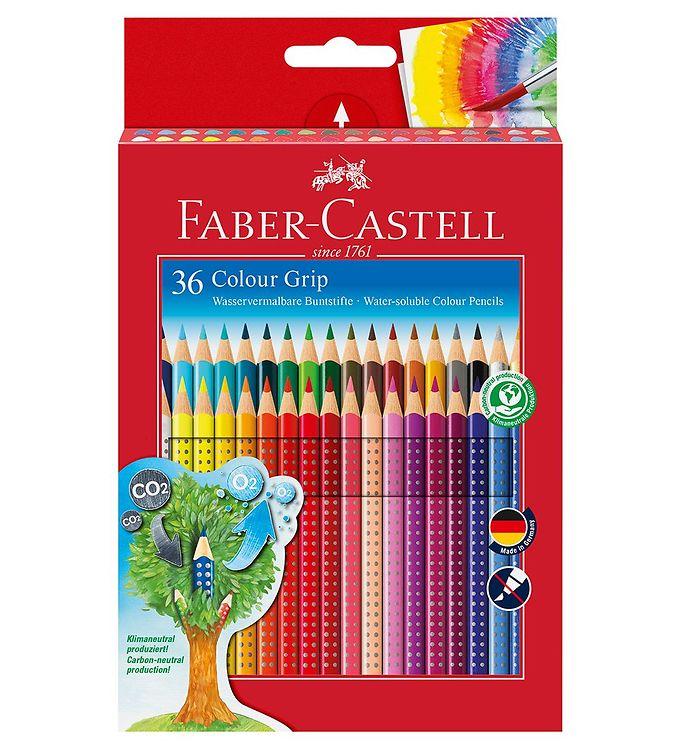 Image of Faber-Castell Farveblyanter - Grip - Akvarel - 36 stk - Multifar (NN527)