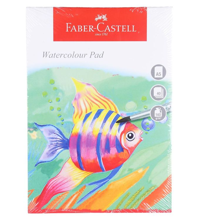 Image of Faber-Castell Maleblok - Akvarel - 40 ark - A5 (NN533)