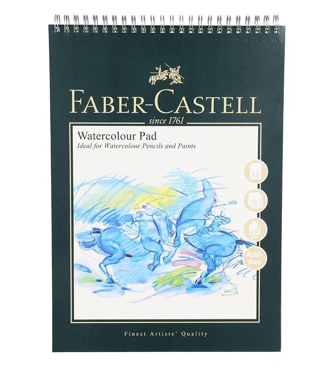Image of Faber-Castell Maleblok - Akvarel - 10 ark - A4 (NN534)
