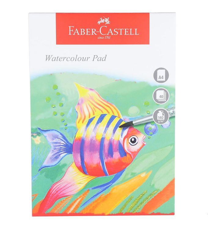 Image of Faber-Castell Maleblok - Akvarel - 40 ark - A4 (NN535)