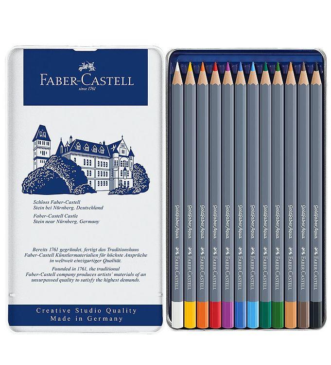 Image of Faber-Castell Farveblyanter - Goldfaber Akvarel - 12 stk - Multi (NN540)
