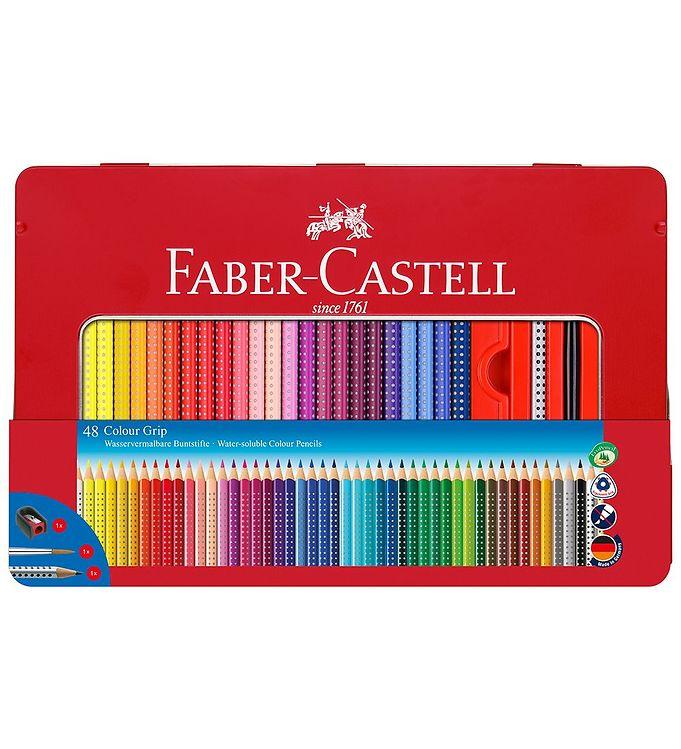 Image of Faber-Castell Farvesæt - Grip - Akvarel - 48 stk - Multifarvet (NN541)