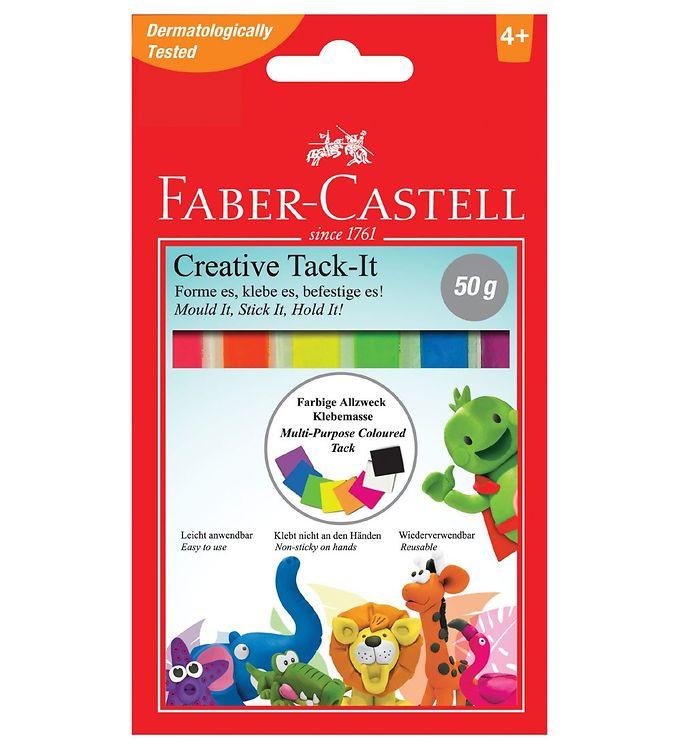 Image of Faber-Castell Hæftemasse - Creative Tack It - 50g - Multifarvet (NN544)