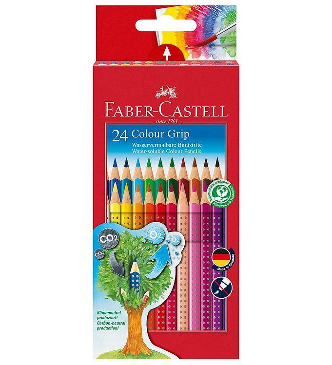 Image of Faber-Castell Farveblyanter - Grip - Akvarel - 24 stk - Multi (NN549)
