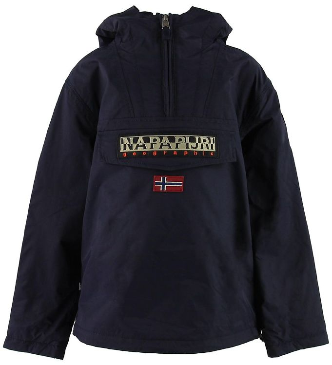 Image of Napapijri Vinterjakke - Rainforest Anorak - Navy (OJ816)
