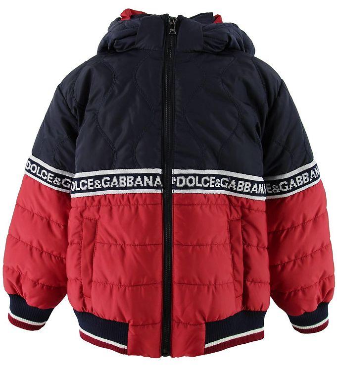 Image of Dolce & Gabbana Dunjakke - Navy/Rød (OJ829)