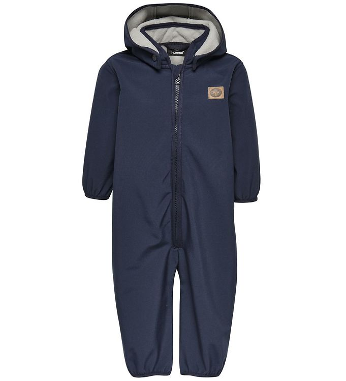 Image of Hummel Softshelldragt m. Fleece - Maroon - Navy (OK543)