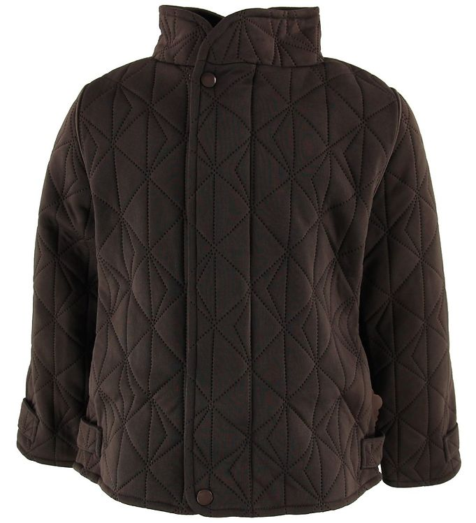 Image of byLindgren Termojakke m. Fleece - Little Leif - Dark Coffee (OK983)