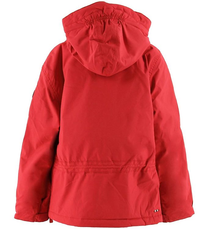 Napapijri Vinterjakke Skidoo Anorak High Risk Red