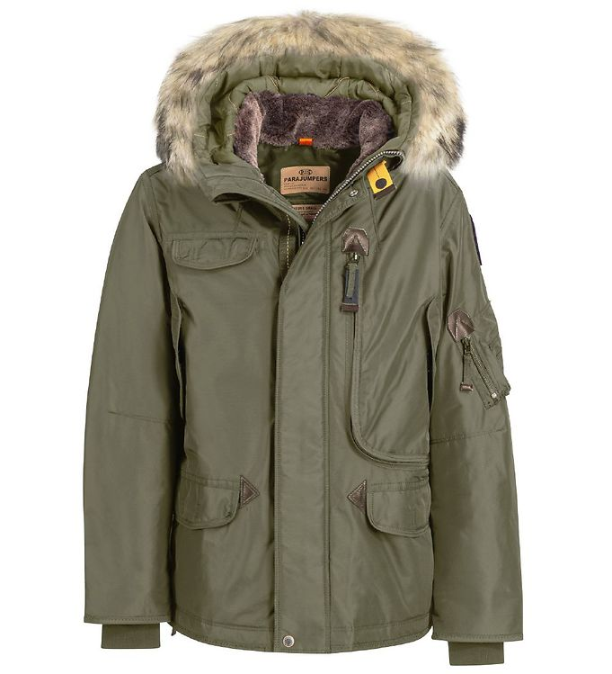 Image of Parajumpers Dunjakke - Right Hand - Military (OL612)