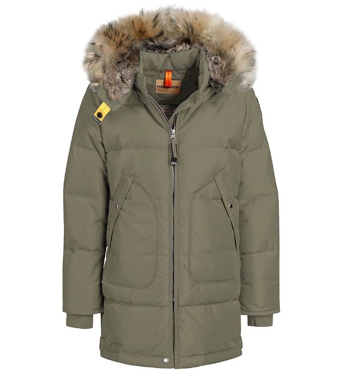 Image of Parajumpers Dunfrakke - Long Bear - Military (OL615)