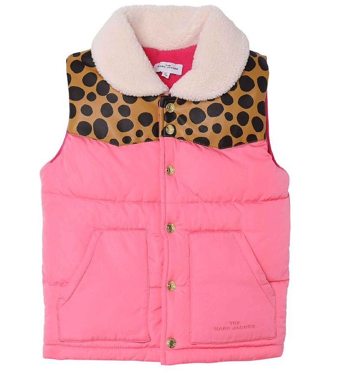 Image of Little Marc Jacobs Dynevest - Snow Day in NYC - Fuschia (OP076)