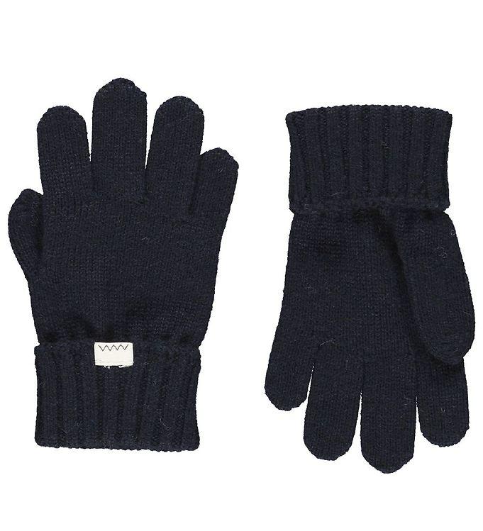 MarMar Handsker – Uld/Bomuld – Aske – Darkest Blue