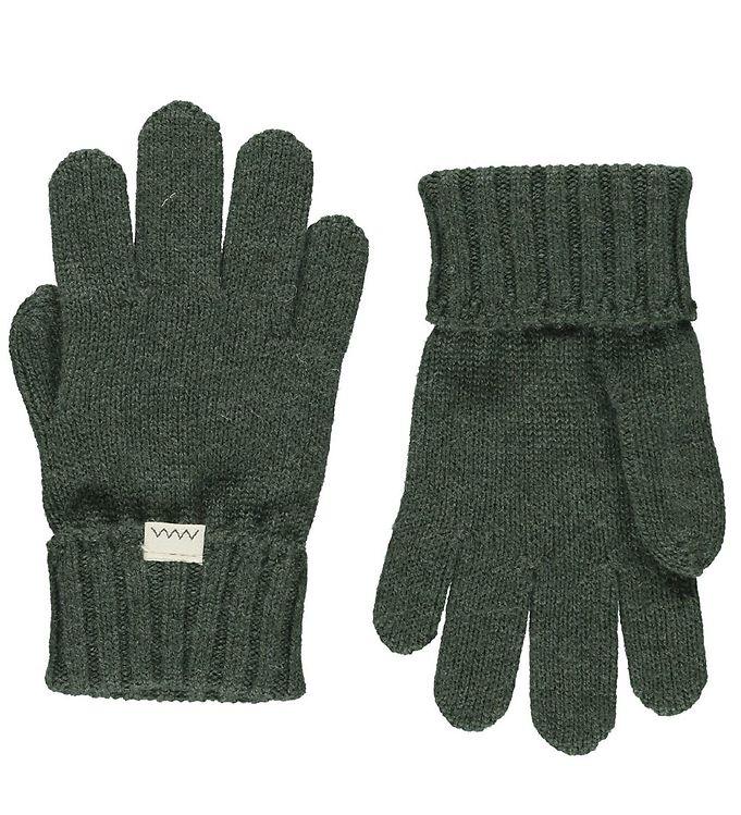 MarMar Handsker – Uld/Bomuld – Aske – Hunter