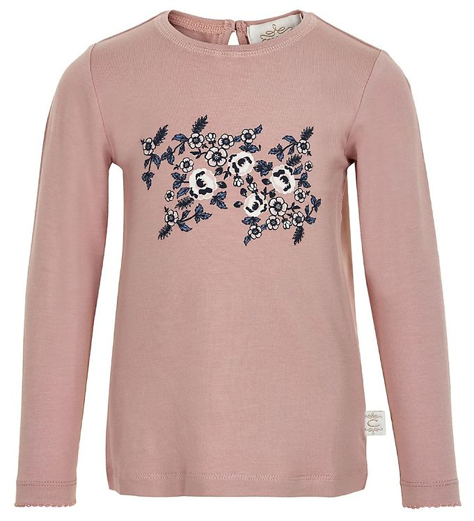 Image of Creamie Bluse - Adobe Rose m. Blomster (RA071)