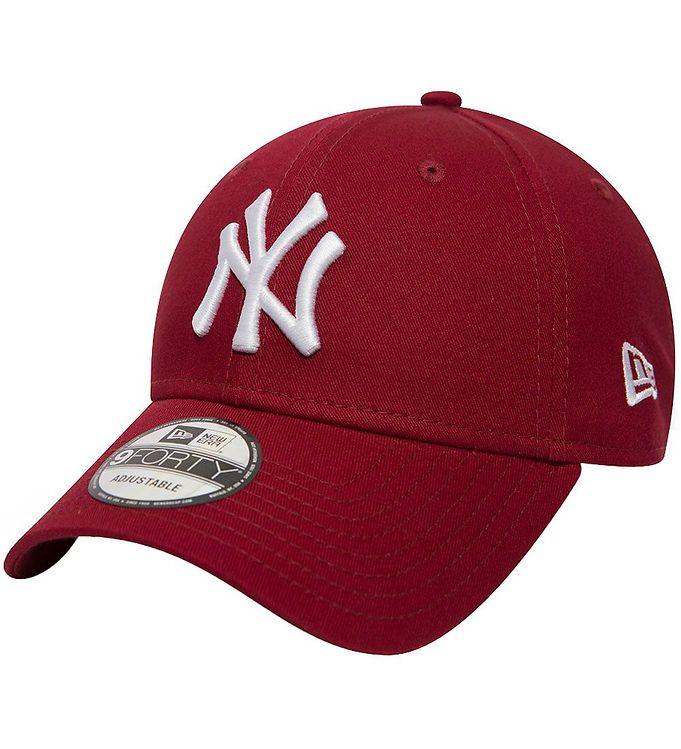 Image of New Era Kasket - 940 - New York Yankees - Bordeaux (RA079)