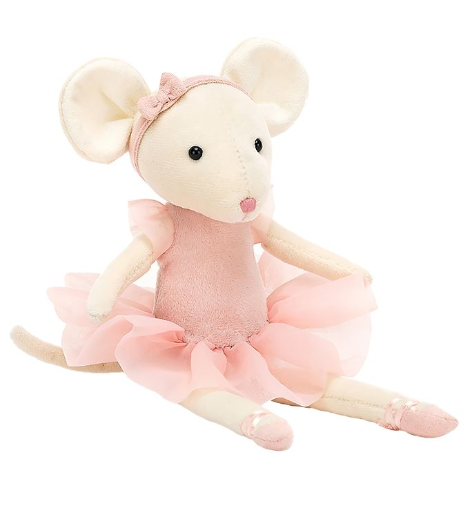 Image of Jellycat Bamse - 27x6 cm - Pirouette Mouse Candy (RA119)