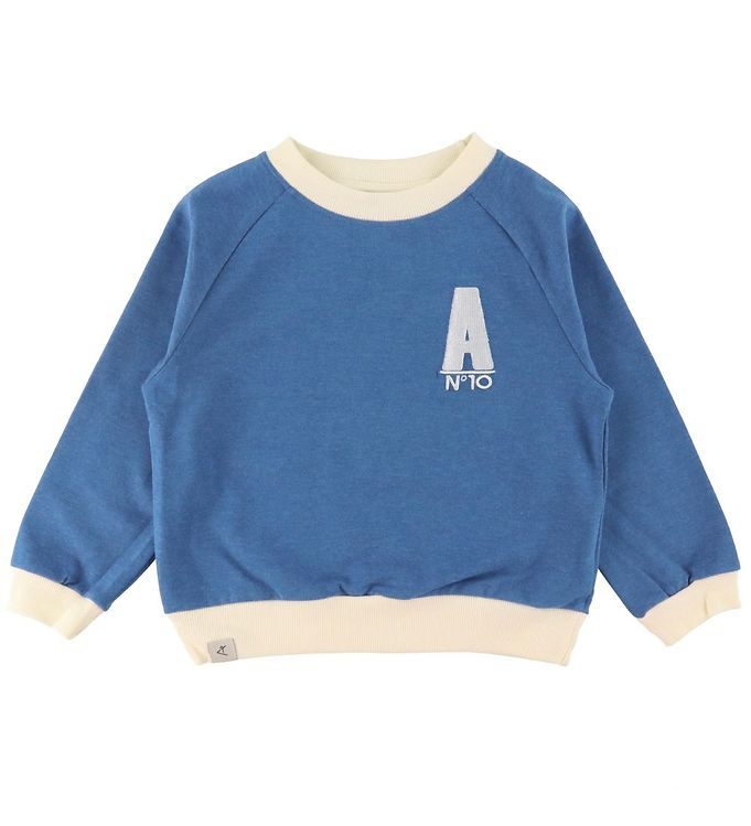 Image of AlbaBaby Bluse - Joy Is A Feeling - Snorkel Blue (RA222)