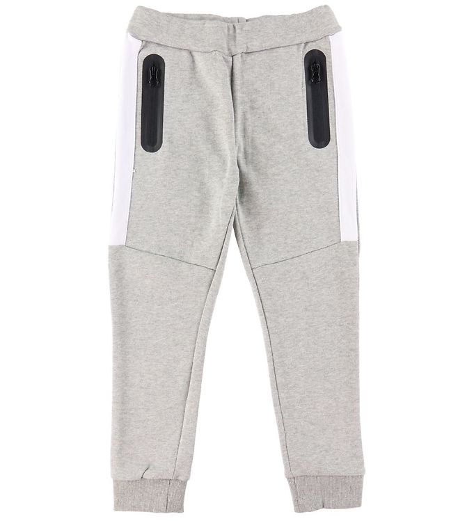 Name It Sweatpants - NkmFaxei - Grey Melange