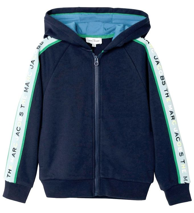 Image of Little Marc Jacobs Cardigan - Lower East Side - Medieval Blue (RA382)