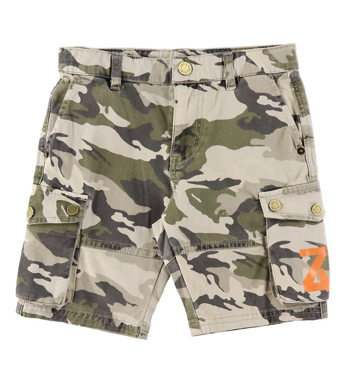 Image of Zadig & Voltaire Shorts - Young Rebel - Army Camouflage (RA419)