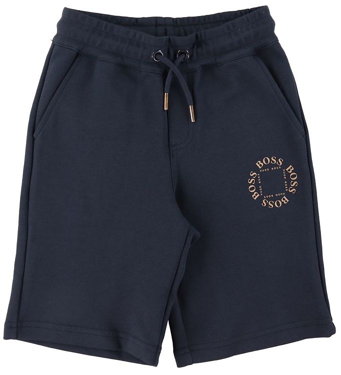 BOSS BOSS Shorts - Triple Gold - Navy m. Guld