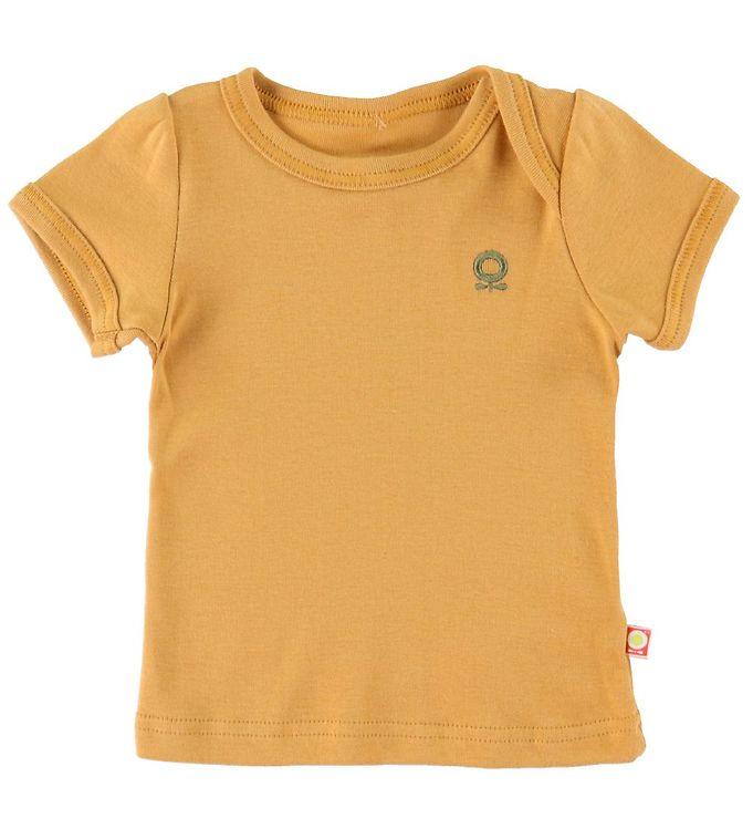 Image of Katvig T-shirt - Gul (RA699)