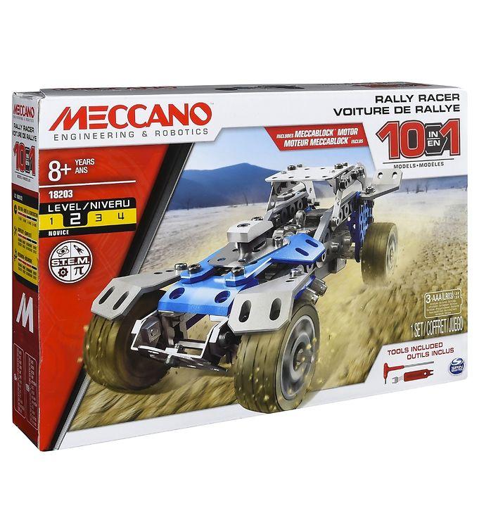 Image of Meccano Byggesæt - 10 i 1 - Rally Racer (RA760)