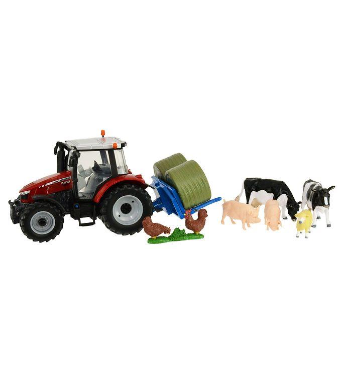 Image of Britains Arbejdsmaskine - 5612 - Traktor m. Dyr (RA779)