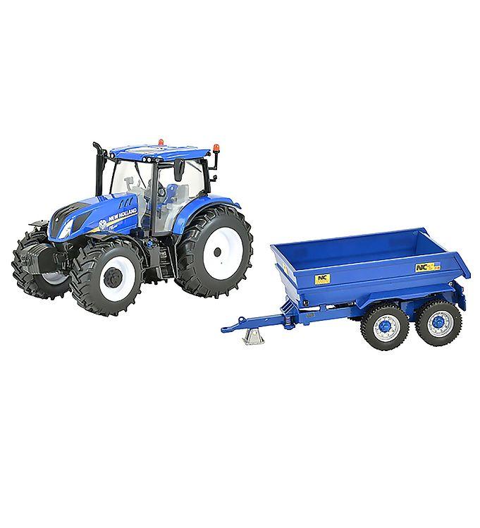 Image of Britains Arbejdsmaskine - T6 - Traktor m. Trailer (RA787)