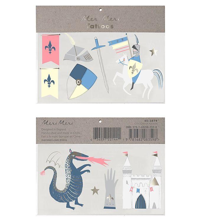 Image of Meri Meri Tatoveringer - Large - Dragon Knights (RB077)