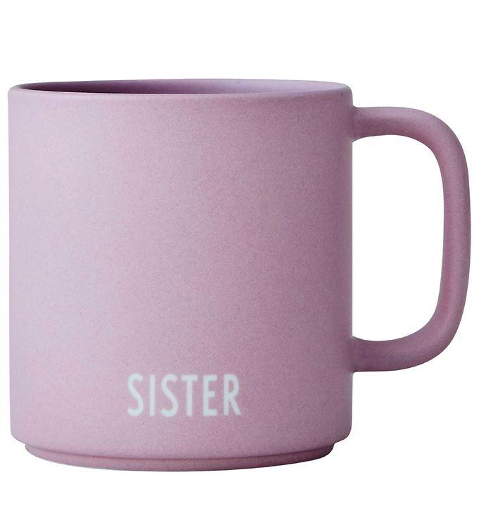 Image of Design Letters Kop - Siblings - Favourite - Lavendel m. Sister (RB127)