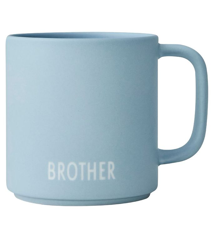 Image of Design Letters Kop - Siblings - Favourite - Blå m. Brother (RB128)