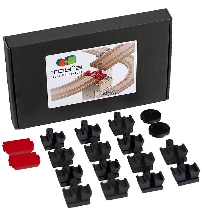 Image of Toy^2 Track Connectors - 18 Stk. - Medium Pack (RB246)