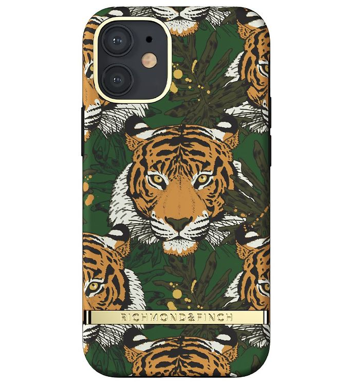 Image of Richmond & Finch Cover - iPhone 12 Mini - Green Tiger (RB394)