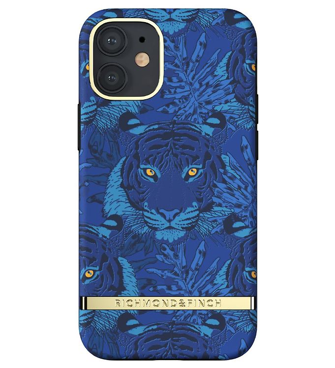 Image of Richmond & Finch Cover - iPhone 12 Mini - Blue Tiger (RB396)