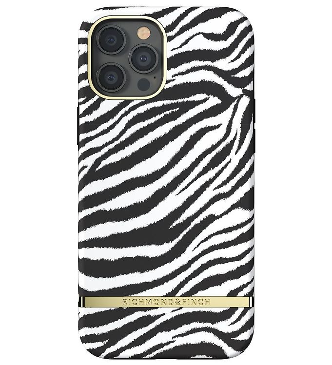 Image of Richmond & Finch Cover - iPhone 12 Pro Max - Zebra (RB397)