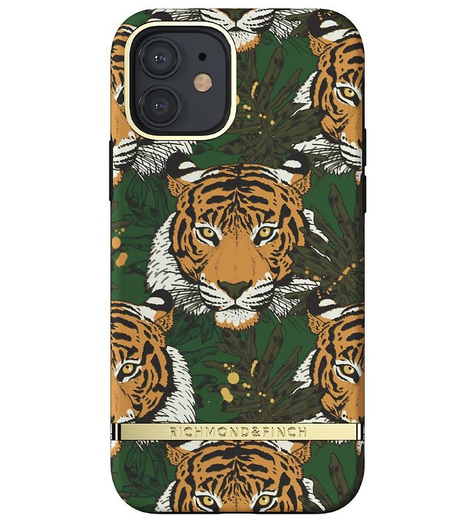 Image of Richmond & Finch Cover - iPhone 12/12 Pro - Green Tiger (RB398)