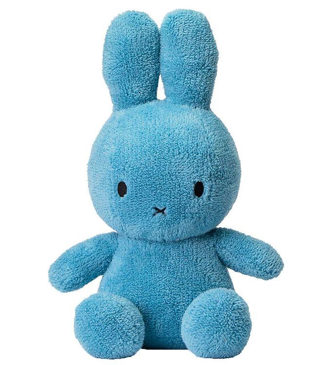 Image of Bon Ton Toys Bamse - 23 cm - Miffy Sitting - Terry Ocean Blue (RB407)