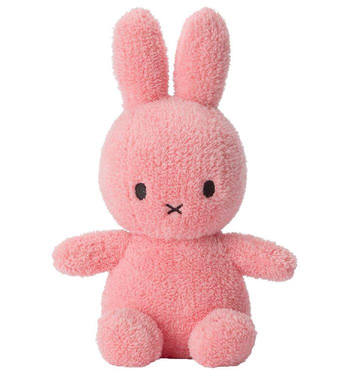 Image of Bon Ton Toys Bamse - 23 cm - Miffy Sitting - Terry Pink (RB409)